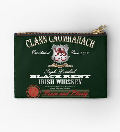 Kavanagh Clan Vintage Irish Whiskey Studio Pouch