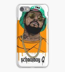 Schoolboy Q lifestyle iPhone Case/Skin