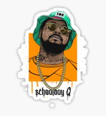 Schoolboy Q lifestyle Sticker