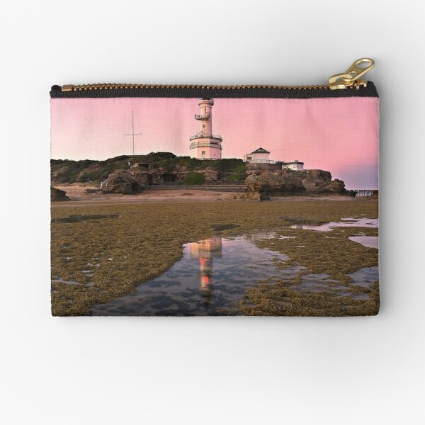 0028 Point Lonsdale Lighthouse Zipper Pouch