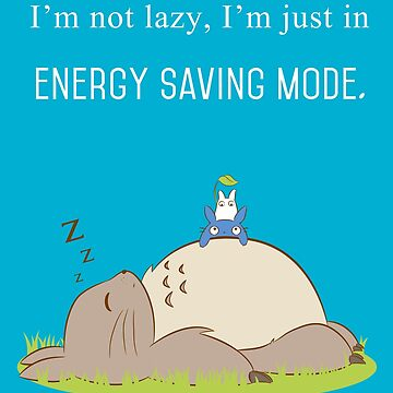 I'm not lazy by dejameprobar