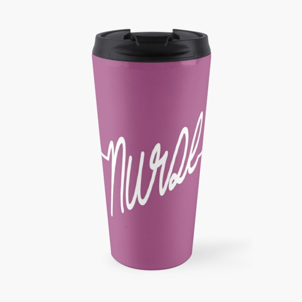 Nurse Heartbeat Travel Mug