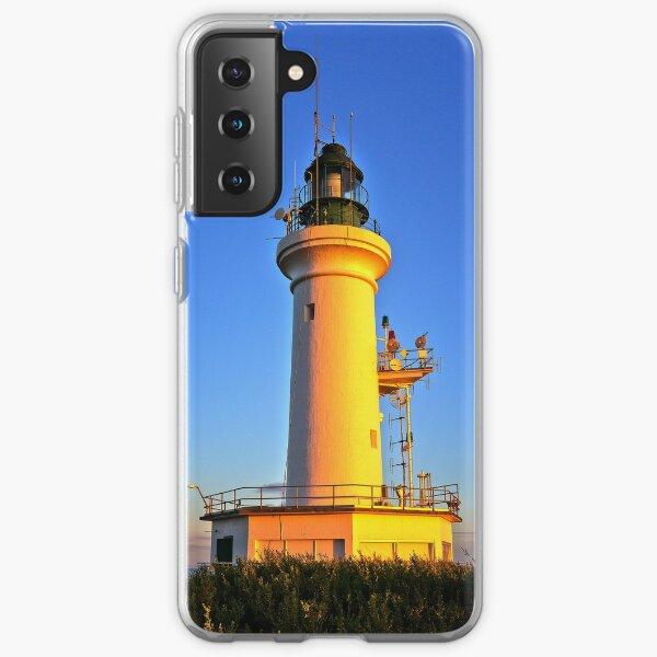 0037 Sunbaked Lighthouse Samsung Galaxy Soft Case