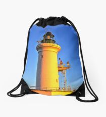 0037 Sunbaked Lighthouse Drawstring Bag