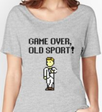 Game Over, Old Sport! Women's Relaxed Fit T-Shirt