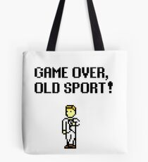 Game Over, Old Sport! Tote Bag