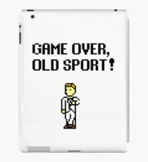 Game Over, Old Sport! iPad Case/Skin