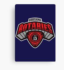 Hiroshima Rotaries Sports Fan Merchandise Canvas Print