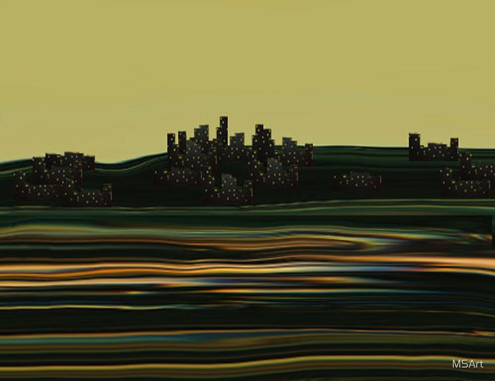 Cityscape by MSArt