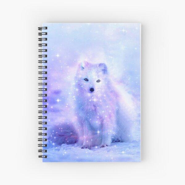 Arctic Iceland Fox Spiral Notebook