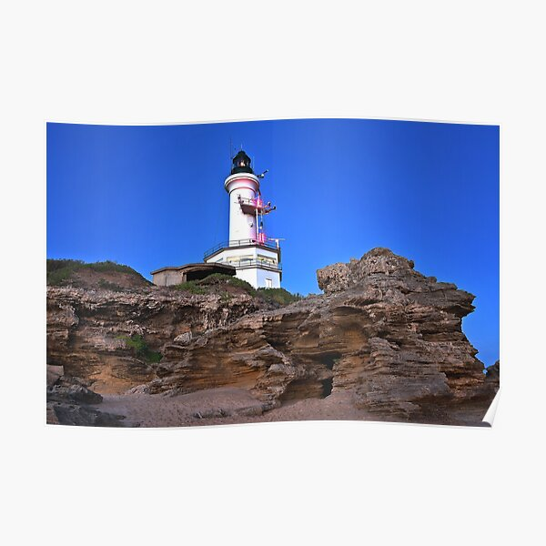 0055 Point Lonsdale Lighthouse Poster