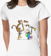 calvin and hobbes play T-Shirt