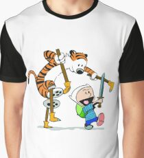 calvin and hobbes play Graphic T-Shirt