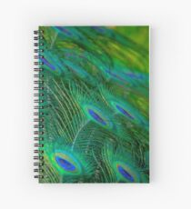 Peacock Mystery Spiral Notebook