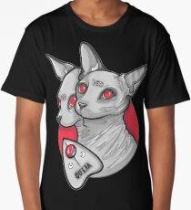 Ouija Cat Long T-Shirt