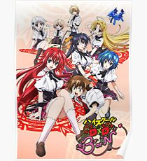 HS DXD Poster