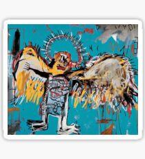 Basquiat Angel Sticker