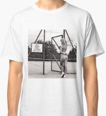 funny tennis court rules Classic T-Shirt