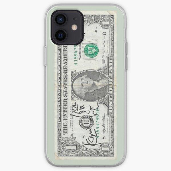 SATOSHI KON 1$ iPhone Soft Case