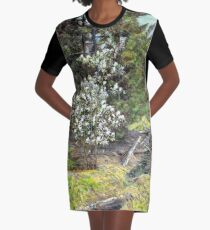 spring in the wood Graphic T-Shirt Dress