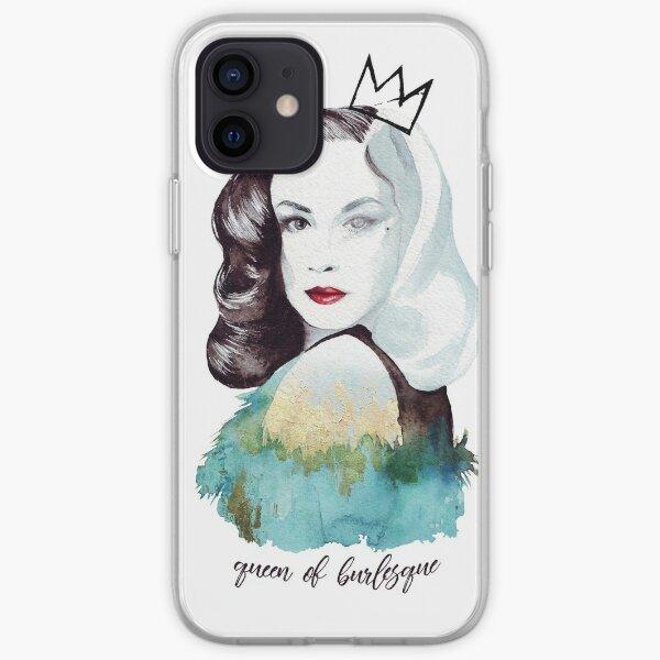 Reina de Burlesque Funda blanda para iPhone