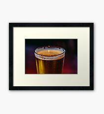 Irish Beer Framed Print