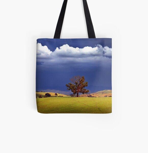 0092 Wodonga Hills All Over Print Tote Bag