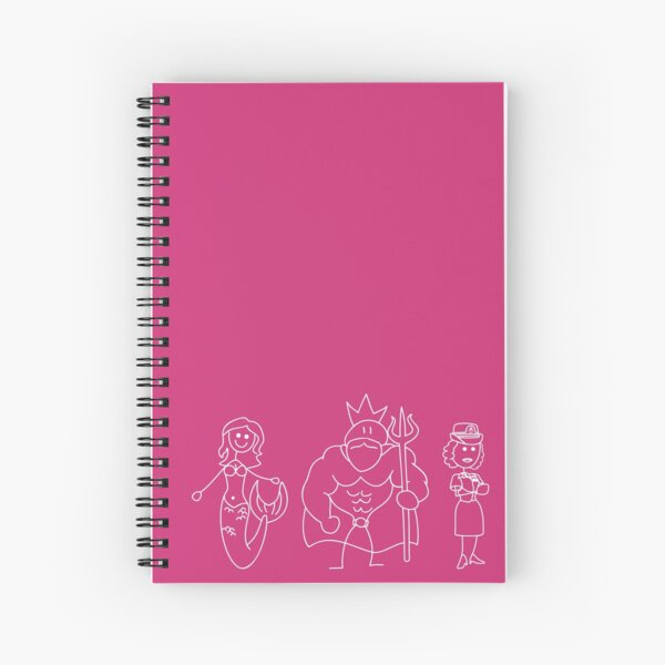 Me mother was a mermaid ! Spiral Notebook