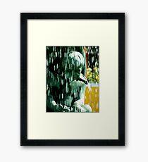 Sad Foot Framed Print