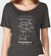 PeopleMover Patent People Mover Women's Relaxed Fit T-Shirt