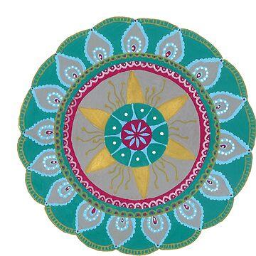 Mandala flower by zetwal