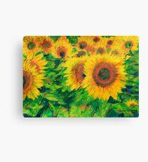 Arles Sunflowers Canvas Print