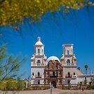 USA. Arizona. Mission San Xavier del Bac. by vadim19