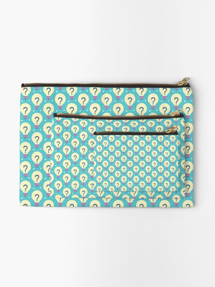Alternate view of Looking for new ideas Zipper Pouch