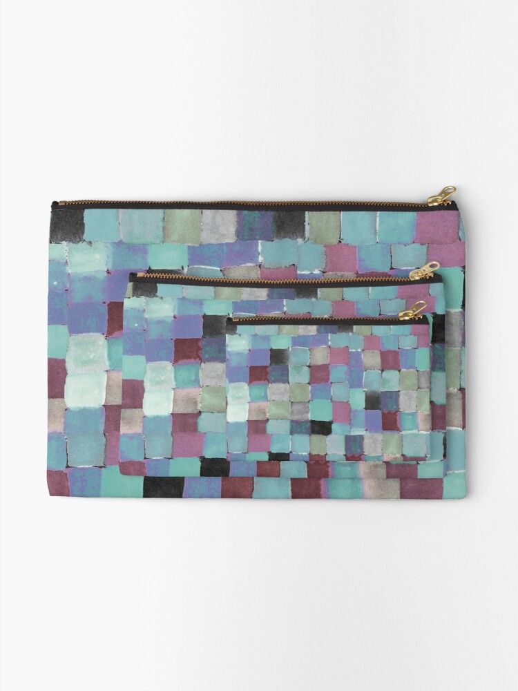 Alternate view of Shades of mood Zipper Pouch