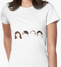 Peep Show - Faces Womens Fitted T-Shirt