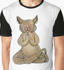 Gato Yogui Camiseta gráfica