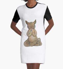 Gato Yogui Vestido camiseta