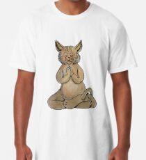 Gato Yogui Camiseta larga