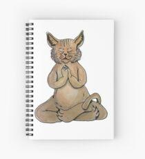 Gato Yogui Cuaderno de espiral