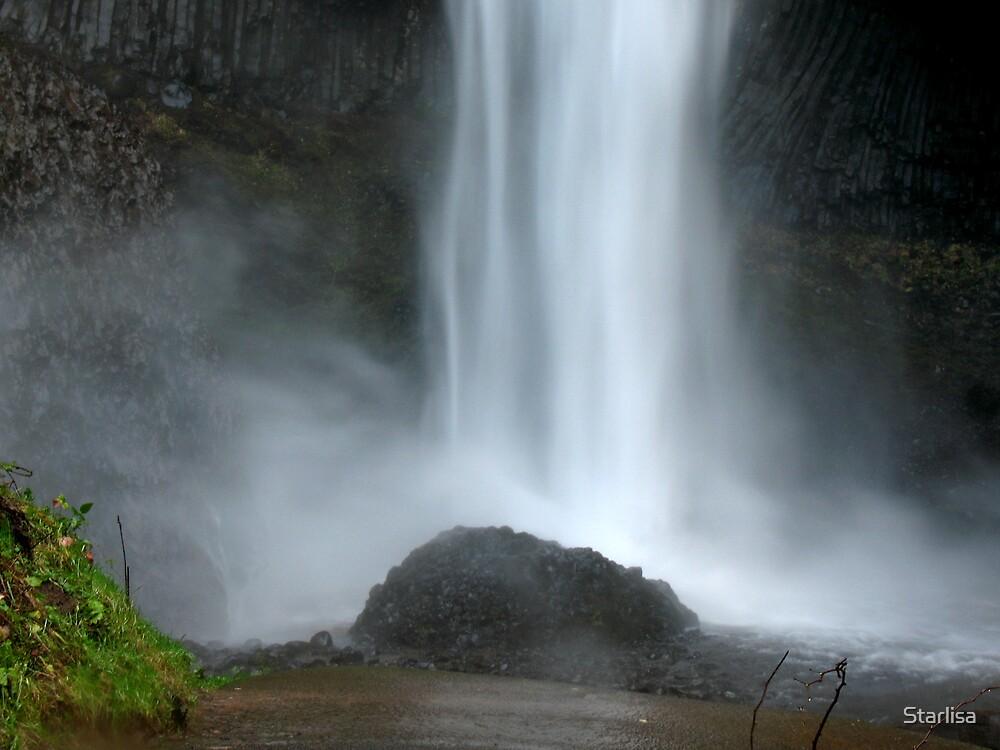 Latourell Falls by Starlisa