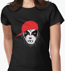 Exile redhat face 1 Women's Fitted T-Shirt