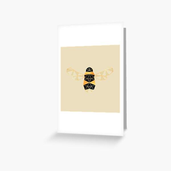 Geo Beeo Greeting Card