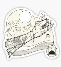 Teabag. Sticker