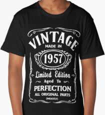 Made In 1957 Birthday Gift Idea Long T-Shirt