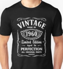 Made In 1960 Birthday Gift Idea Unisex T-Shirt