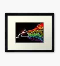Pink Floyd – The Dark Side Of The Moon Framed Print