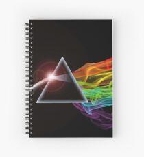 Cuaderno de espiral Pink Floyd - El lado oscuro de la luna