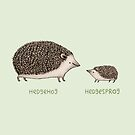 Hedgehog Hedgesprog by Sophie Corrigan