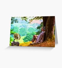 Out of time - Down time Greeting Card